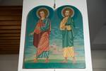 One of six icons depicting the twelve Apostles