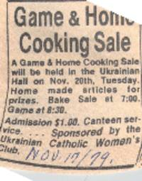 Game and Home Cooking Sale