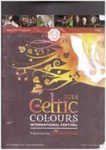 Celtic Colours, 2014: Souvenir Program